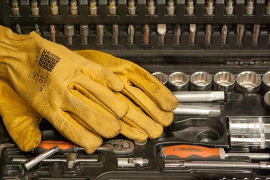 gants et outils