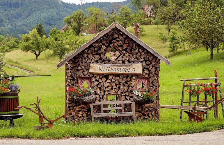 abri de jardin en bois