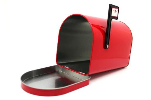 boite aux lettres ouverte
