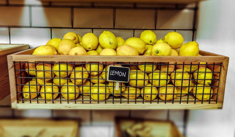 cagette citron