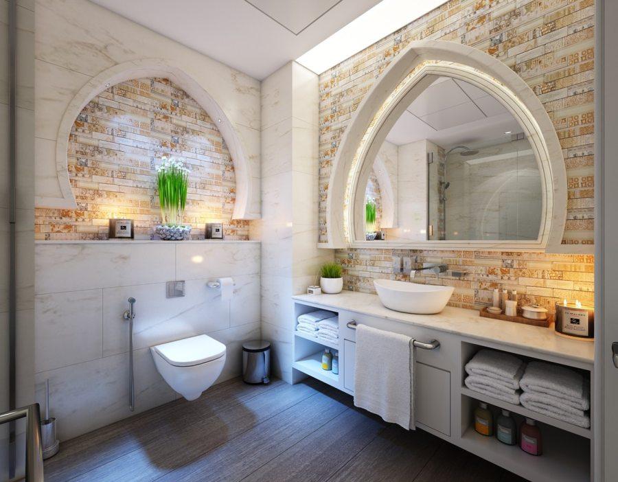 La feuille de pierre pour salle de bain : un décord'exception