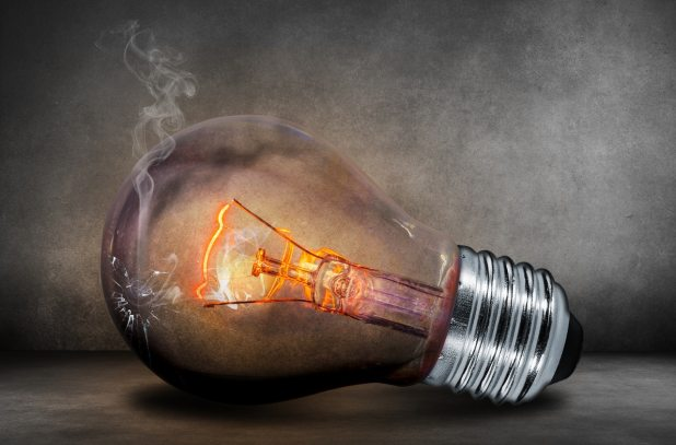 ampoule cassée