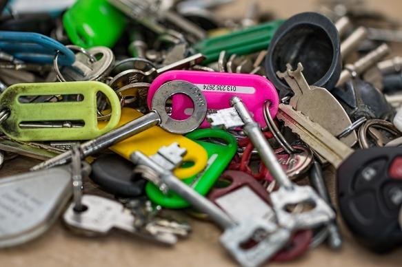 plein de clés