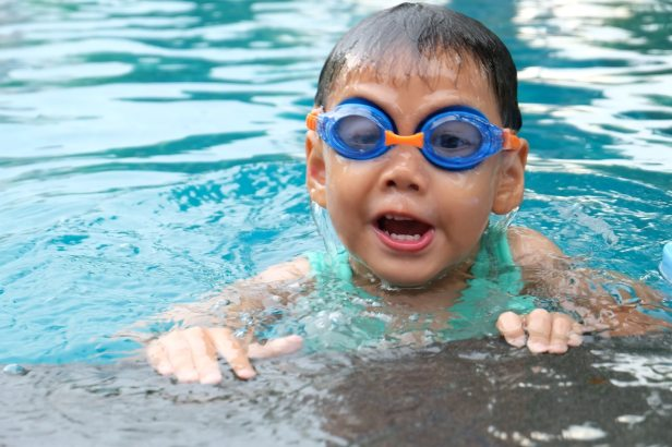 piscine bébé