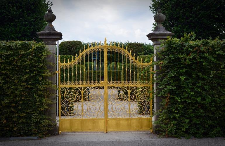 portail doré