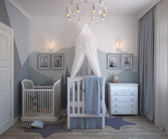 chambre bébé aménagée