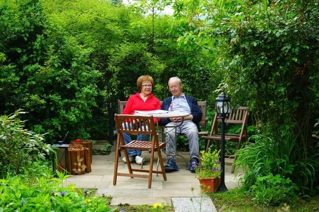 couple en terrasse