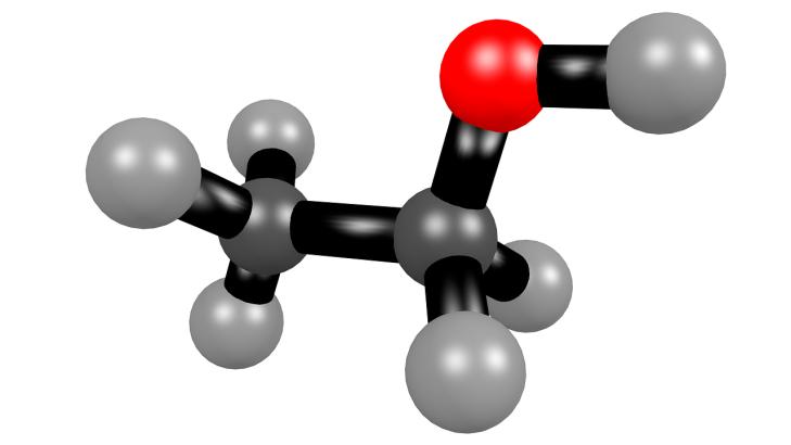 molécule éthanol