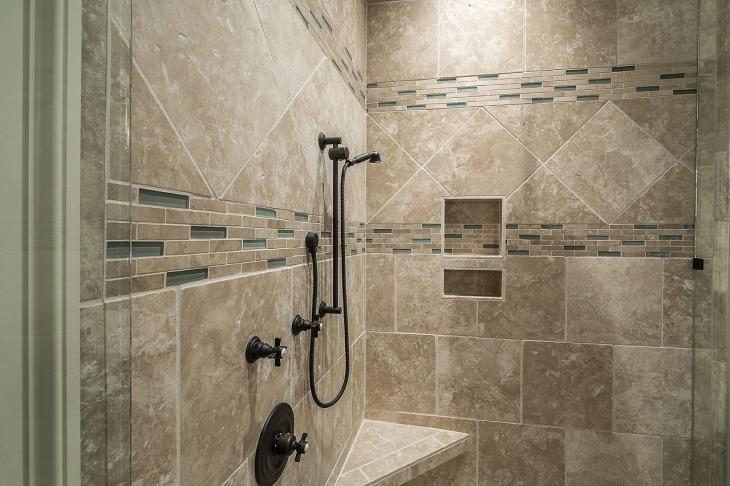 douche italienne carrelée