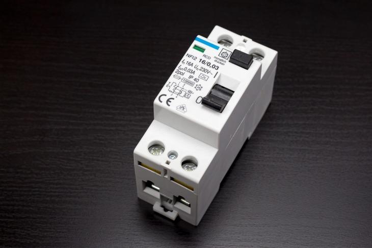 disjoncteur électrique simple
