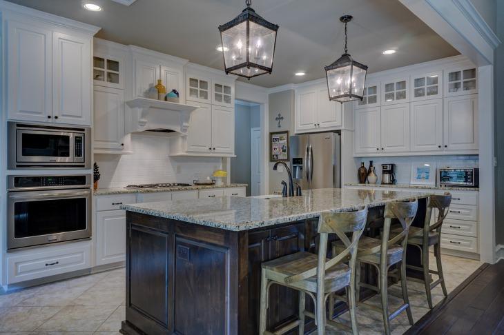 luminaires dans cuisine