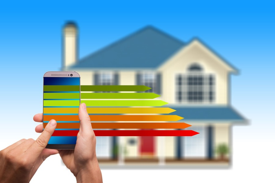 La technologie au service d'une maison durable générant desrevenus