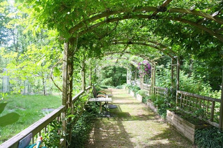 pergola jardin