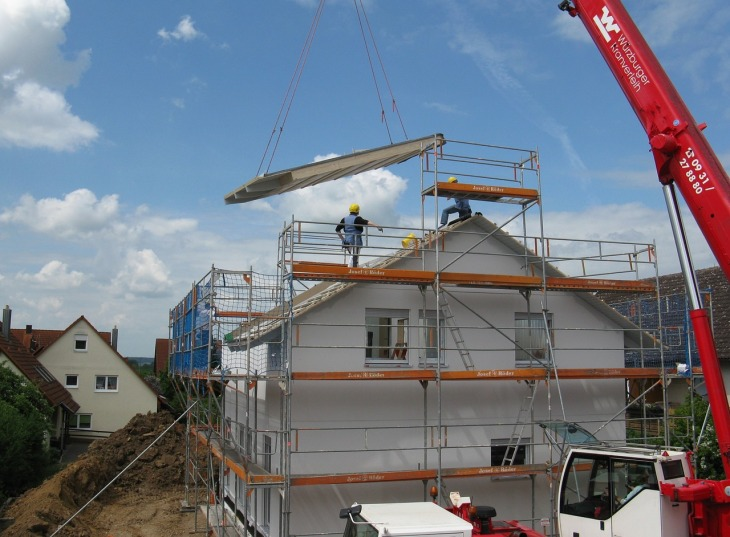 maison en construction