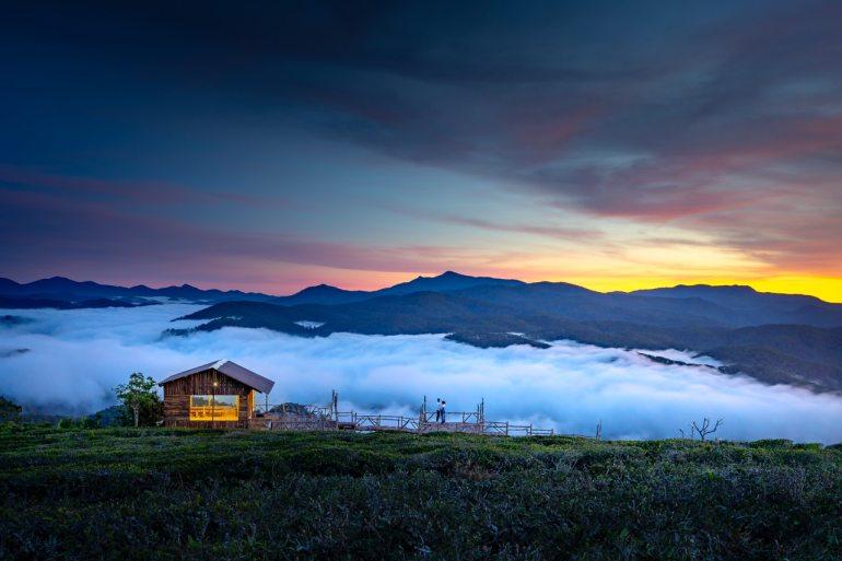 tiny house dans les montagnes