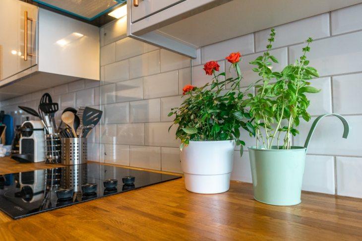 espace de travail de cuisine
