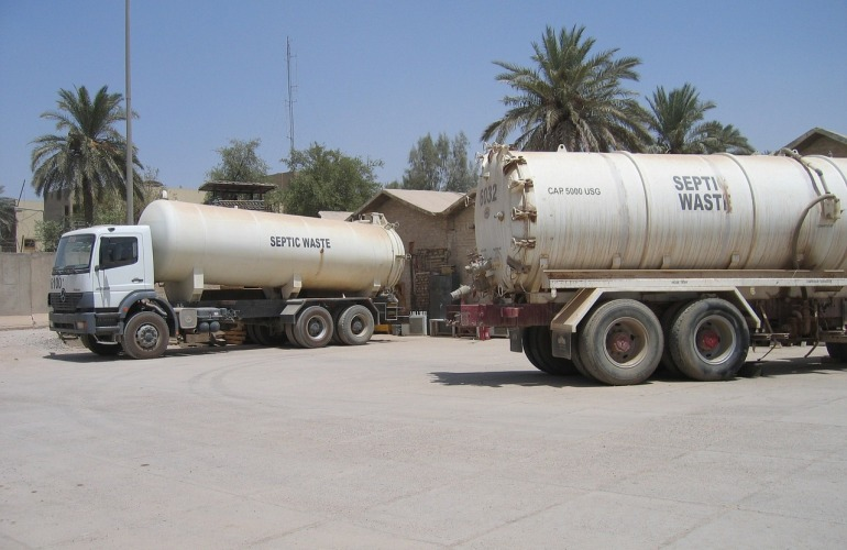 camion fosse septique