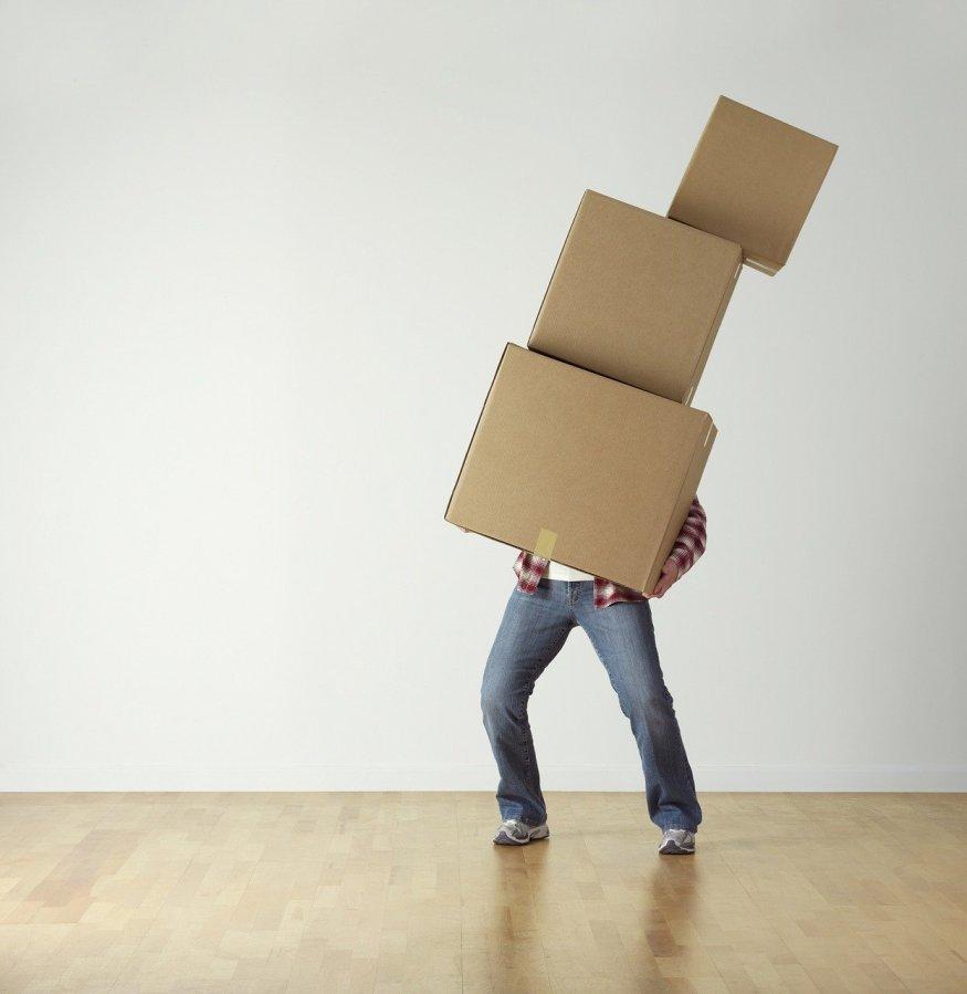 Ou stocker ses affaires lors d'un déménagement?
