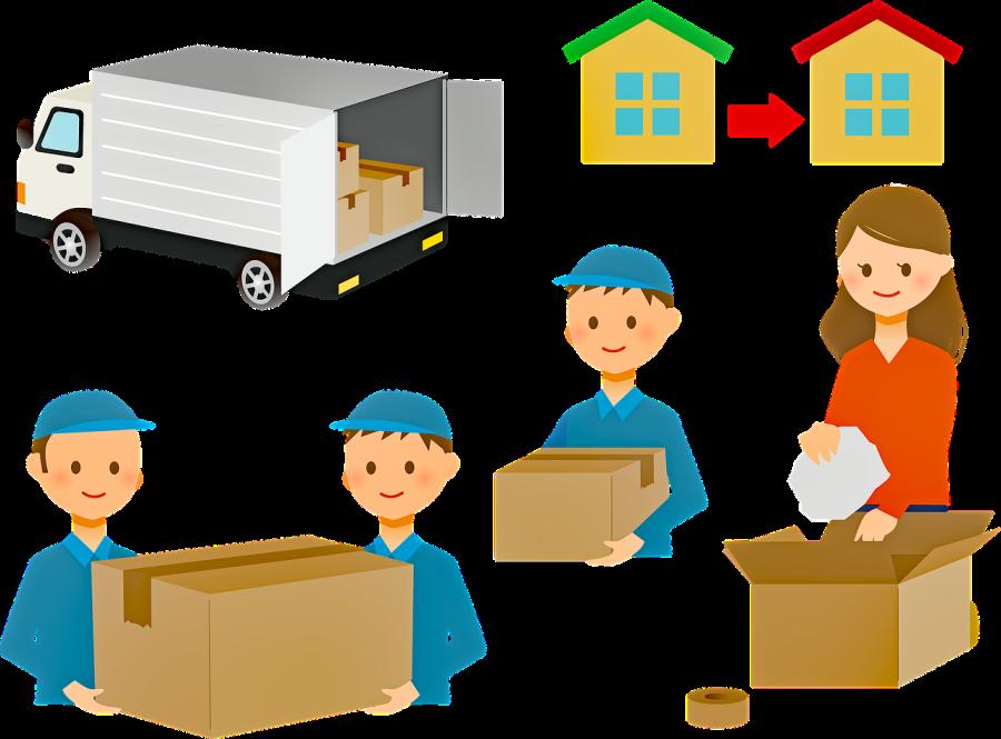 Combien coûte un déménagement en ligne?